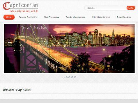 capriconian website designing joomla