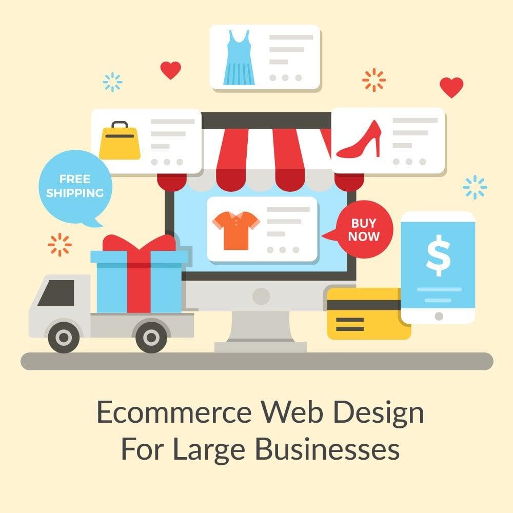 Ecommerce Web Design For Large Businesses Price in Dubai, UAE