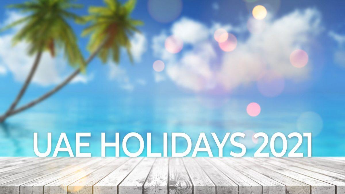 UAE Public Holidays 2021